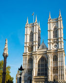 Westminster Abbey on bright summer day — Stock Photo