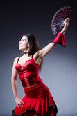 Tänzerin, spanische tänze tanzen — Stockfoto