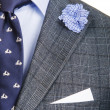 Stock Photo: Formal suit in fashion concept