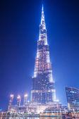 DUBAI, UAE - JUNE 7: Burj Khalifa on June 7, 2010 in Dubai, UAE. — Stock Photo