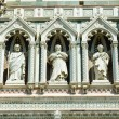 Elements architecture of cathedral in Florence — Stock Photo #21766961