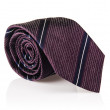 Elegant silk male tie ( necktie ) on white — Stockfoto