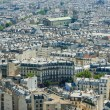 Skyline of Paris on bright summer day — Stock Photo #21772595