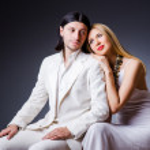 Pair in romantic love concept — Stock Photo #21773061