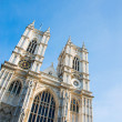 Westminster Abbey on bright summer day - Foto Stock