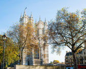 Westminster Abbey on bright summer day — Stockfoto