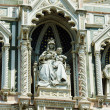 Elements architecture of cathedral in Florence — Stock Photo