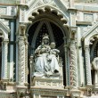 Elements architecture of cathedral in Florence — Stock Photo #22557337