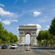 Arc de Triomphe in Paris — Stock Photo #22562921
