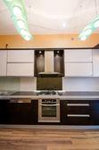 现代厨房的内部 — 图库照片