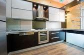 Intérieur de cuisine moderne — Photo