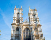 Abadía de westminster en día de verano brillante — Foto de Stock