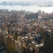 New York city panorama with tall skyscrapers — Foto de Stock