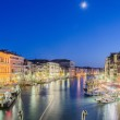 VENICE, ITALY - JUNE 30: View from Rialto bridge on June 30, 201 — Stock Photo #23651159