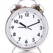 Stock Photo: Alarm clock isolated on the white