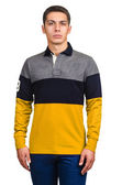 Male sweater isolated on the white — Stok fotoğraf