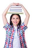 студент, подготовке к экзаменам в университет — Стоковое фото