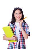 Studenten voorbereiden op examens van de universiteit — Stockfoto