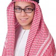 Young arab man isolated on white — Lizenzfreies Foto