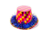 Party hat isolated on white background — Stock Photo