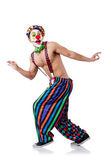 Funny clown — Stock Photo