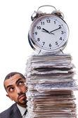 Hombre no cumplen sus plazos — Foto de Stock