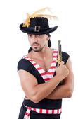 Één eyed piraat — Stockfoto