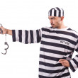Prisoner with — Stock Photo