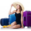 Young girl travelling — Stock Photo #32104637