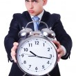 Businessman with clock — Stock Photo #32504957