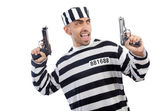 заключенный с оружием — Стоковое фото