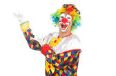 Funny clown — Foto Stock