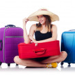 Young girl travelling — Stock Photo #32511031