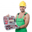 Stock Photo: Mwith toolkit