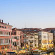VENICE, ITALY - JUNE 30: View from Rialto bridge on June 30, 201 — Stock Photo #32800837