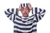 Vězeň s zlé modřiny — Stock fotografie