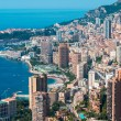 Monte Carlo view on summer day — Foto de Stock