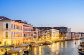 VENICE, ITALY - JUNE 30: View from Rialto bridge on June 30, 201 — Foto de Stock