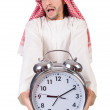 Arab min time concept on white — Stock Photo #36123281