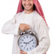 Arab min time concept on white — Stock Photo #36414057
