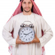 Arab min time concept on white — Stock Photo #37117691