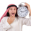 Arab min time concept on white — Stock Photo #37117709