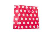 Färgstarka shopping väska — Stockfoto
