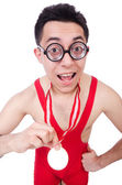 Funny wrestler — Stock Photo