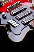 Cerca de música guitarra — Foto de Stock