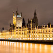 Big Ben building at night — Stock Photo #45286467