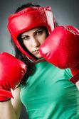 Boxer femme — Photo