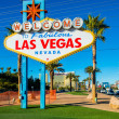 Famous Las Vegas sign — Stock Photo