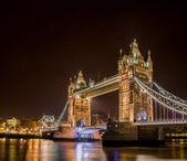 Famous Tower Bridge in London — Stock Photo