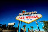 Berühmte Las Vegas Schild — Stockfoto